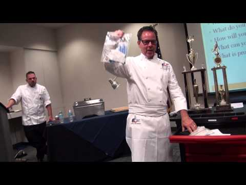 How To Prepare to Win a Culinary Competition ACF Lenard Rubin and Chris Cwierz