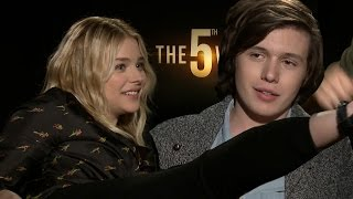 the fifth wave cast plays would you rather? dare style