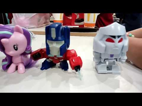 McDonald's Happy Meal Toys Mei 2018 Indonesia