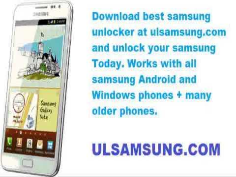 Free unlock samsung u700
