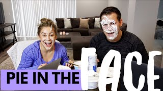 PIE IN THE FACE CHALLENGE WHO KNOWS ME BETTER EDITION! | Shawn + Andrew