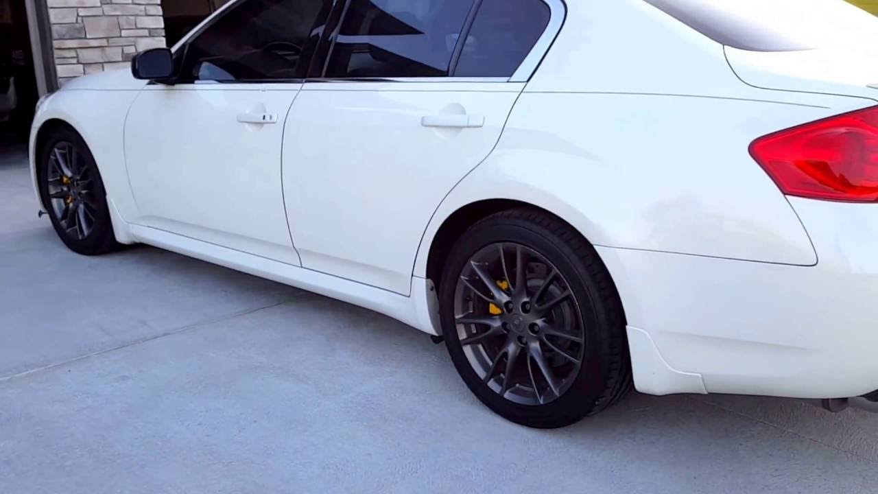 White Lady Walk-Around - G35 G37 Sedan Tuned VQ Infiniti ...