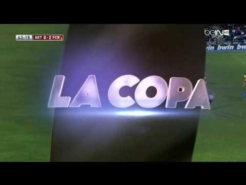 Messi vs Getafe 2014 Amazing Goal