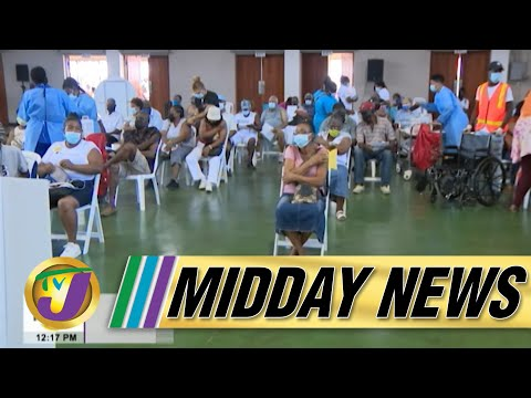 Covid Vaccine Uncertainty as Jamaica's Health Minister Cancel Blitz | TVJ Midday News - June 21 2021