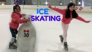 ICE SKATING with KAYCEE & RACHEL