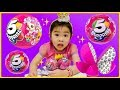 5 SURPRISE Pink Toy Capsule Unboxing with Magic. Pony, Mermaid, Dress up Princessz New from ZURU