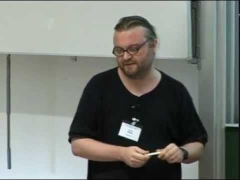 David Hales Talk @ TUD Dresden, 2007