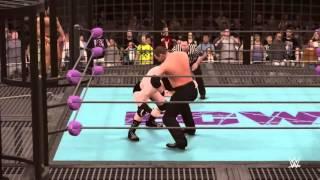 WWE ECW Universe mode. Episode 1: Elimination Chamber