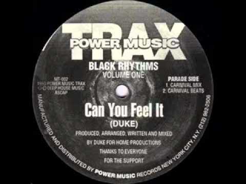 DJ Duke - Can You Feel It