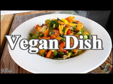 Healthy Stir- Fry Veg Vegan Dish Recipe  | Chef Ricardo Cooking