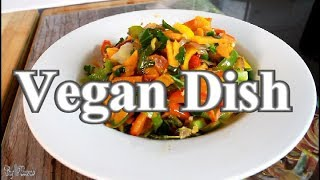 Healthy Stir- Fry Veg Vegan Dish Recipe  | Chef Ricardo Cooking