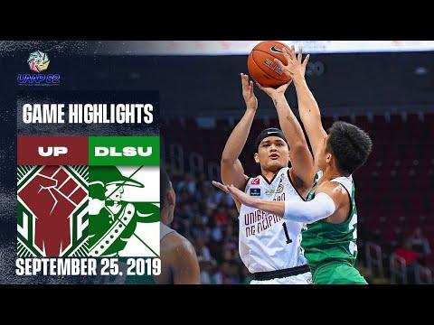 UP vs. DLSU - September 25, 2019 | Game Highlights | UAAP 82 MB