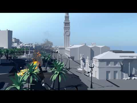 Port of San Francisco Embarcadero Seawall Earthquake & Flood Simulation