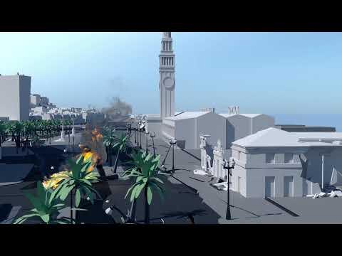Port of San Francisco Embarcadero Seawall Earthquake & Flood Simulation