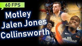 Johnathan Motley, Kyle Collinsworth, Jalen Jones Full Highlights vs Magic [60 FPS] | Apr 5, 2018