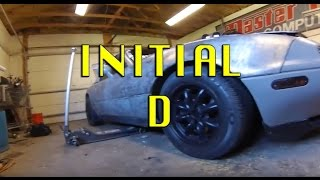Swapping Rims INITIAL D S05E37