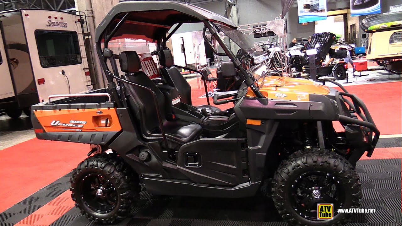 2015 cfmoto uforce 800 utility atv walkaround 2015. Black Bedroom Furniture Sets. Home Design Ideas