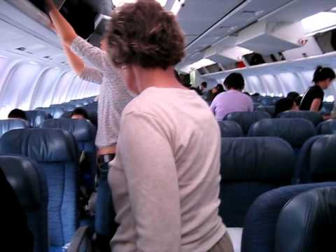 This Is A Video Of Me Boarding Air Canada Boeing 767 (seat Tour)