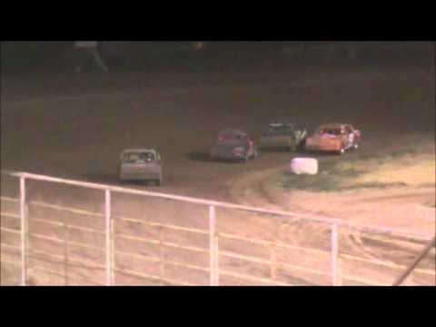 Hobby Stock Feature - McCook Speedway - 6/8/2012