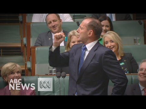 Tony Abbott says Liberal National Party is 'smashing the glass ceiling' for women