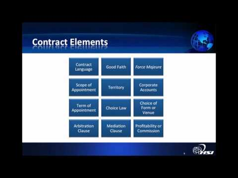 SEMINAR - International Contracts