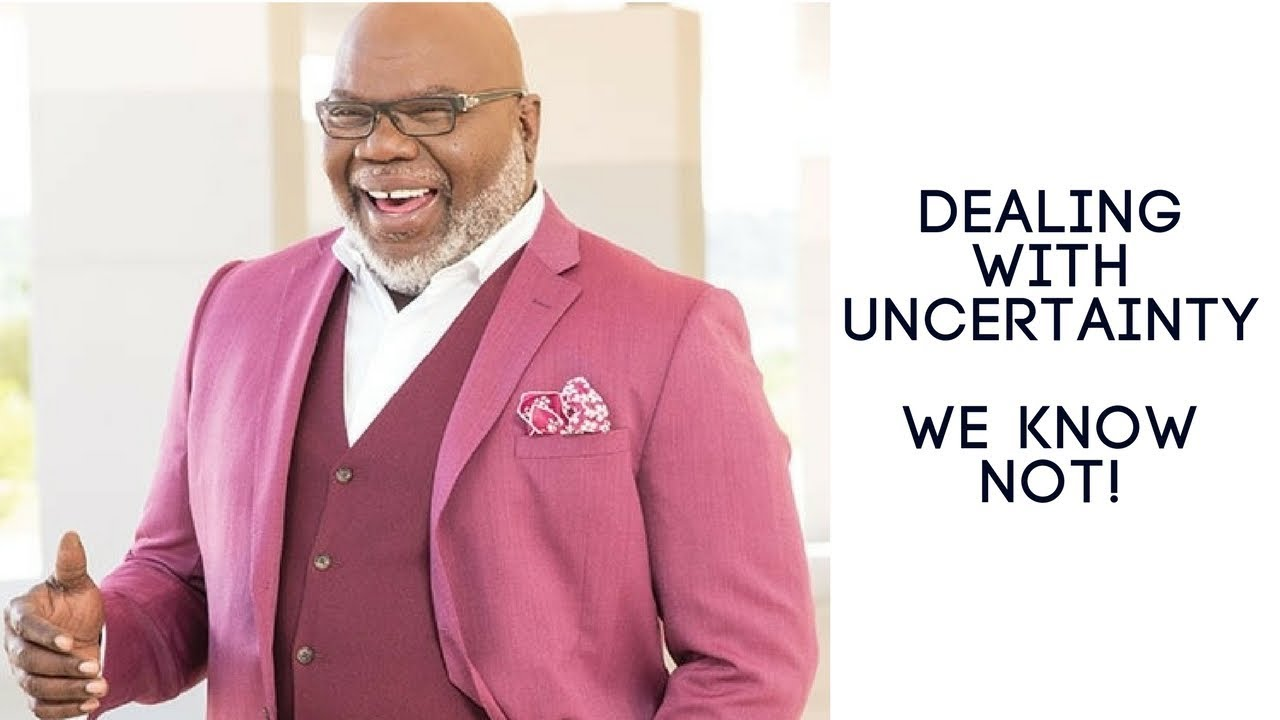 Why I no longer go to church, sermons like these: TD Jakes