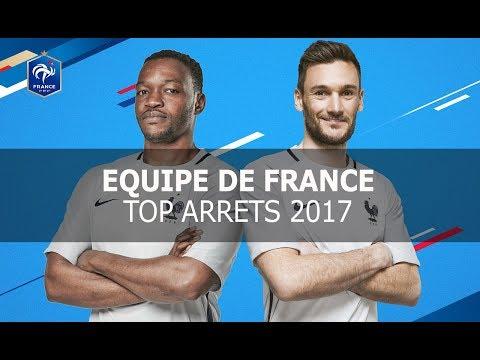 Equipe de France : Top arrêts Lloris et Mandanda I FFF 2017