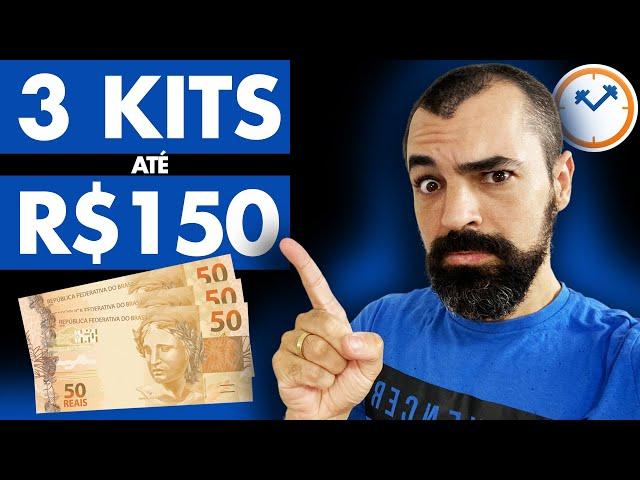 🏋️♂️ ACADEMIA EM CASA COM R$150 (3 opções de kit)   Saúde na Rotina