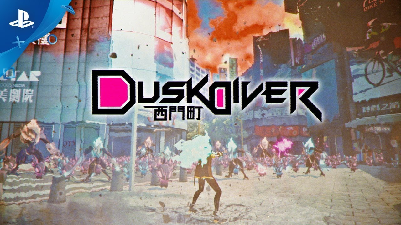 Dusk Diver - Announcement Trailer | PS4