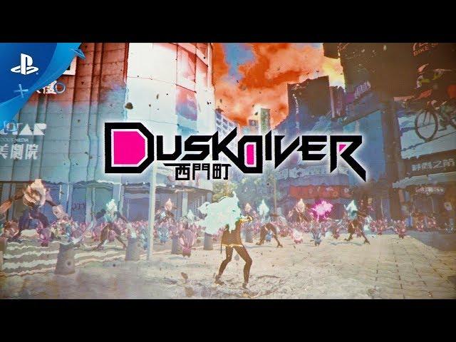 Dusk Diver - Announcement Trailer | PS4