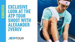 Exclusive Look at the ATP Tour Shoot With Alexander Zverev