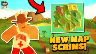 HOSTING SCRIMS in ISLAND ROYALE!🔴 |🌴Roblox Island Royale🌴|