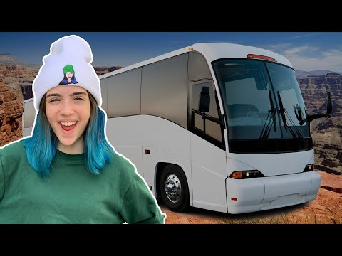 MY $1,000,000 BUS TOUR!!