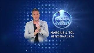 Pénzt vagy éveket! - Március 4-től minden hétköznap 21.30-kor a TV2-n!
