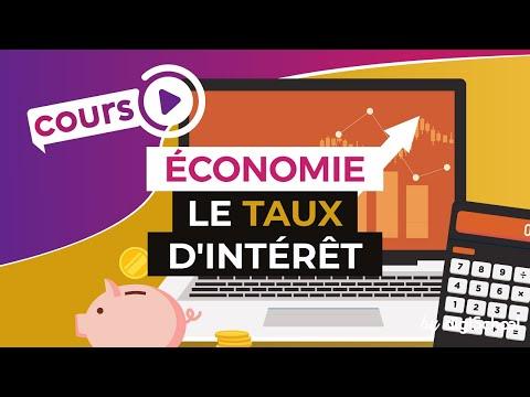 Le taux d'intérêt - Economie - Première ES - digiSchool