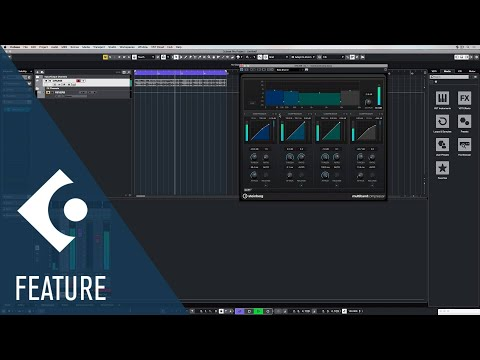 Multiband Compressor | Effects and Plug ins Included in Cubase