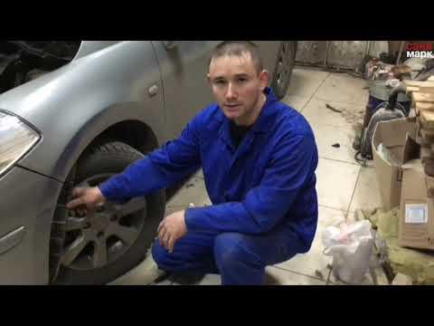Как снять передний бампер на ниссан тиида видео