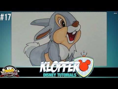 Disney Tutorial - Wie Zeichnet Man Klopfer Aus Bambi #17