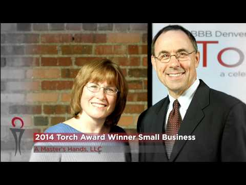 2014 Torch Awards for Marketplace Trust - Small Business Winner - A Master's Hands