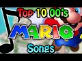 top 10 2000s mario songs