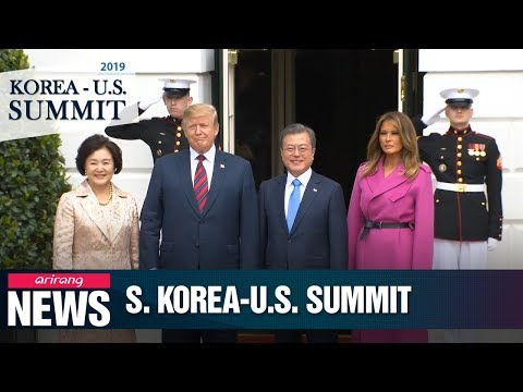 Presidents Moon-Trump reaffirm commitment to continue dialogue with Kim Jong-un