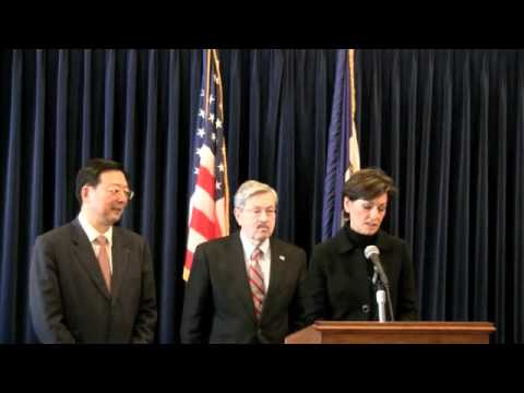 Joint Press Conference with Counsel General General Yang Guoqaing