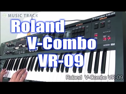 ROLAND V-Combo VR-09 Demo&Review [English Captions]