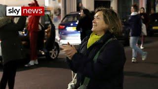 Nation unites to thank NHS staff