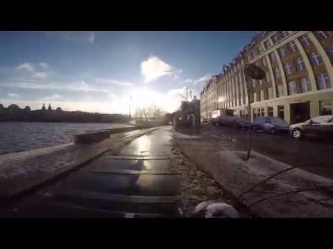 GoPro Bike Ride | Copenhagen | Winter