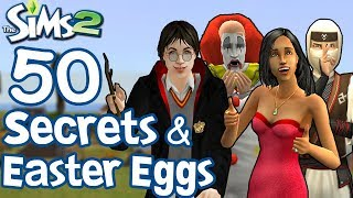 The Sims 2: 50 Easter Eggs and Secrets!