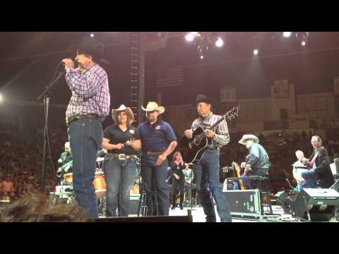 George Strait and Military Warriors Support Foundation Award Mortgage-Free Home to Wounded Veteran