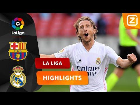 FANTASTISCH DUEL TUSSEN RIVALEN 🔥   Barcelona Vs Real Madrid   La Liga 2020/21   Samenvatting