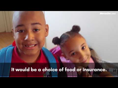 Aisha Crossley of Las Vegas asks Sen. Dean Heller to Protect the ACA