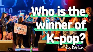 The Winners' stage [ 2019 K-Pop World Festival - Berlin Audition ]